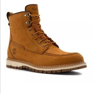 TIMBERLAND BRITTON HILL MOC TOE NUBUCK MENs BOOTS